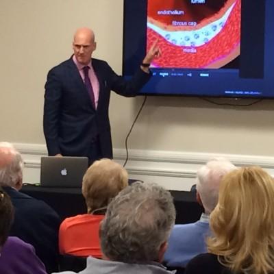 Dr. Jeffrey Fenster Speaks at Ibis Country Club